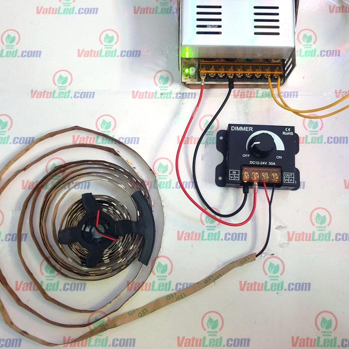 Cách sử dụng mạch Tăng giảm độ sáng Dimmer 30A