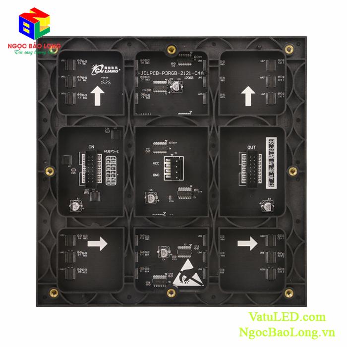 Tấm module LED D#3 Cailiang mặt sau