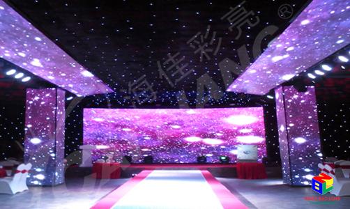 Màn hình LED P4 trong nhà Cailiang