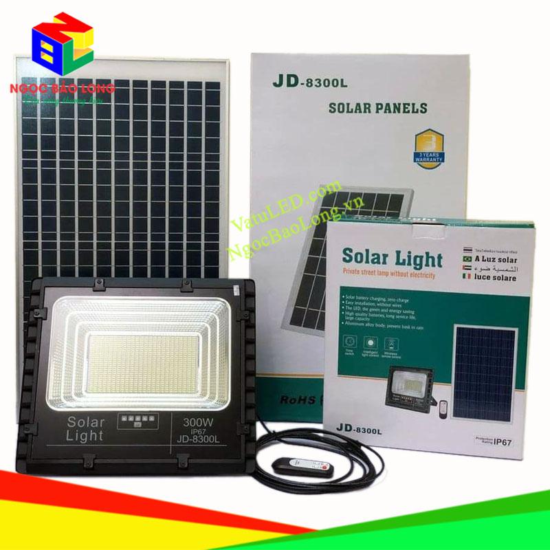 đèn năng lượng mặt trời 300w jindian