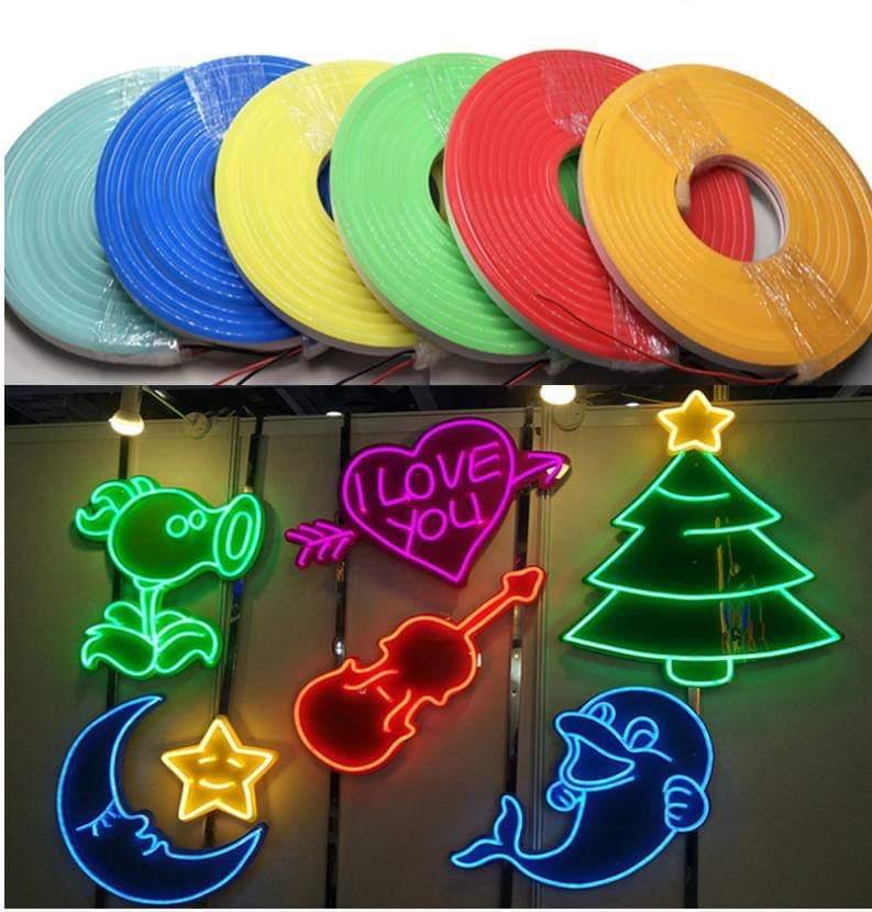 Các màu sắc và Các sản phẩm từ LED Neon 12v 5m