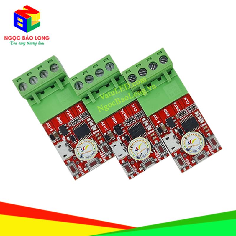 Mạch điều khiển LED Full màu chạy viền